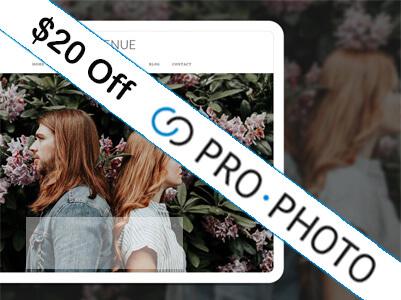 PRO PHOTO WORDPRESS THEME FOR PHOTOGRAPHERS