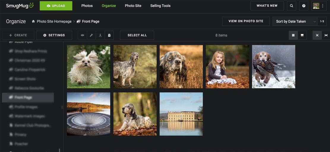 Set Up Guide SmugMug website