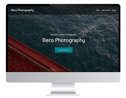 tips to design a photography website