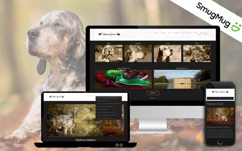 photographers portfolio website