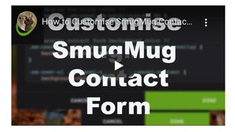 smugmug contact form